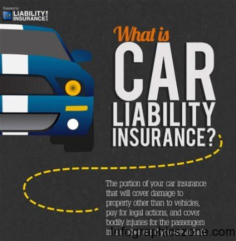 Liability Car Insurance by Top 10 Car Insurance Infographics