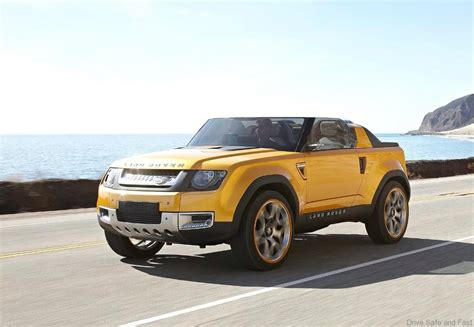 land rover defender concept drive safe and fast drive safe and fast