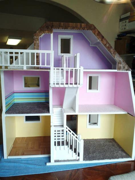 dream doll house custom barbie house story custom made wood barbie doll house wooden dream dollhouse