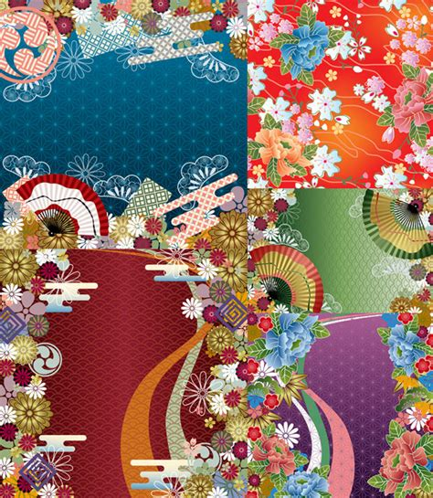 japanese pattern wind japanese wind vector background patterns download free