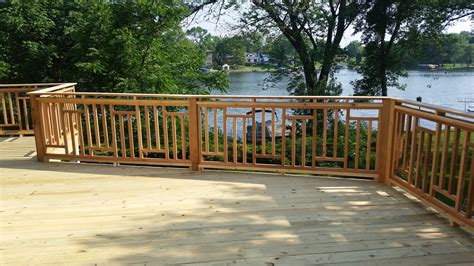 decks decks deck railing ideas