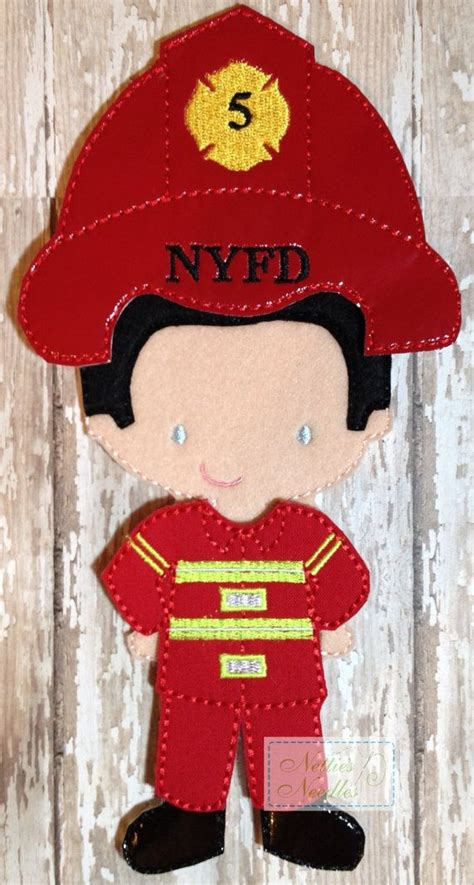 firefighter crafts for 199 best images about dolls made with felt on