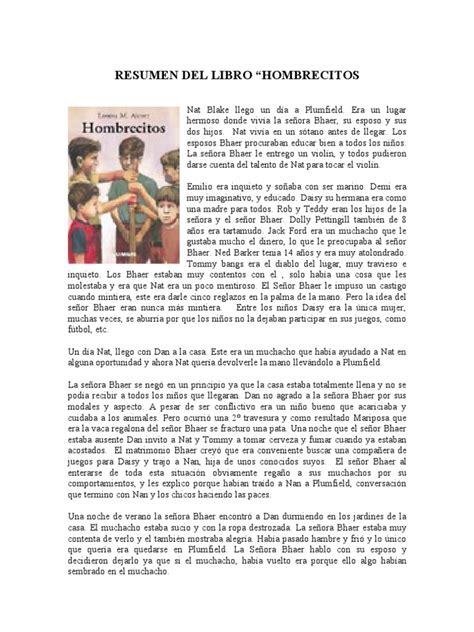 libro classic literary adaptations la resumen del libro hombrecitos