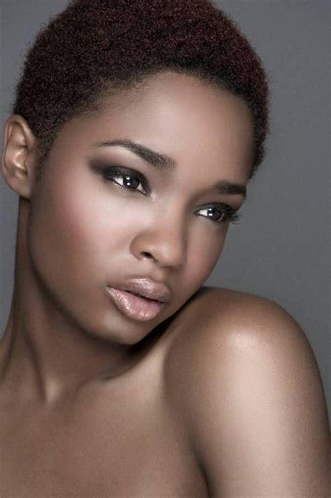 short barber hair cuts on african american ladies short natural haircuts for african american women women