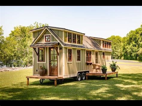 Luxury Craftsman Style Home Plans the ultimate tiny house on wheels youtube