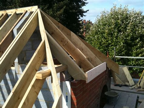 Barn Hip Roof Construction New Barn Hip Roof On New Build J Atkins Carpentry