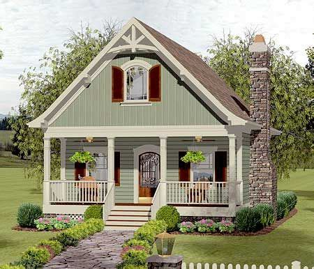 cottage homes pictures plan 20115ga cozy cottage with bedroom loft 40
