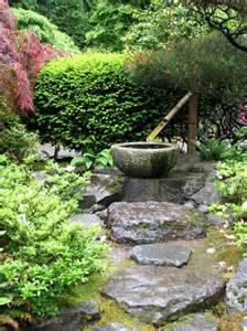 fontaines de jardin japonais fontaines en et bambou