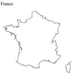 France Map Blank by France Map Blank Colouring Pages