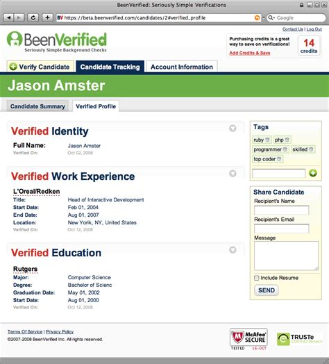 Kroll Mba Background Check by Beenverified Hopes To Make Background Checks Easier And