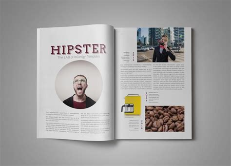 magazine layout design free downloads pro magazine template hipster stockindesign