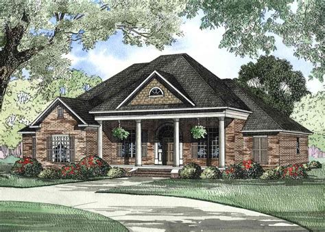 Traditional House Plans With Porches by Architectural Designs