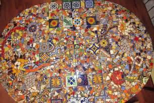 Patio Table Lazy Susan Mosaic Board Mosaic Patterns Mosaic Table1 Mosaic Table