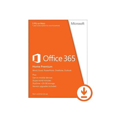 microsoft office 365 home 32 64 bit esd electronic