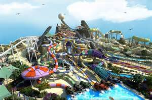 Yas Island World Theme Park Yas Island Or Yas Waterworld From Dubai Lonely