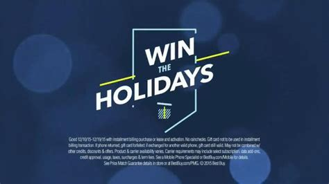 best buy app tv commercial win the holidays at best buy effort best buy win the holidays tv spot no half gifts ispot tv