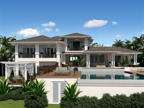 homes plans caribbean style house bahama style house plans caribbean