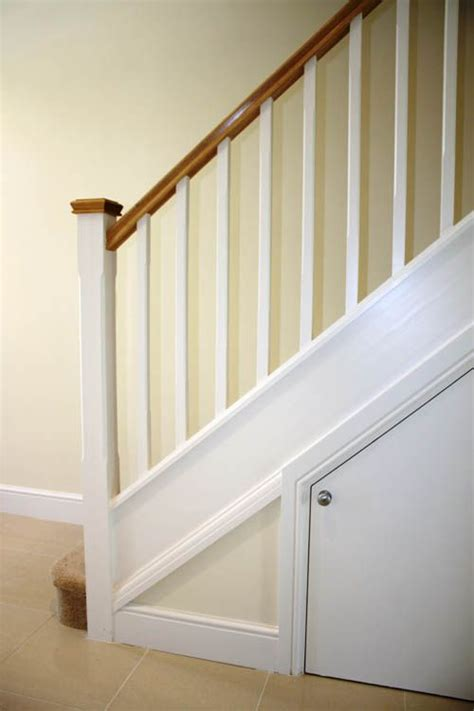 softwood stairs with oak handrail caps stairway to