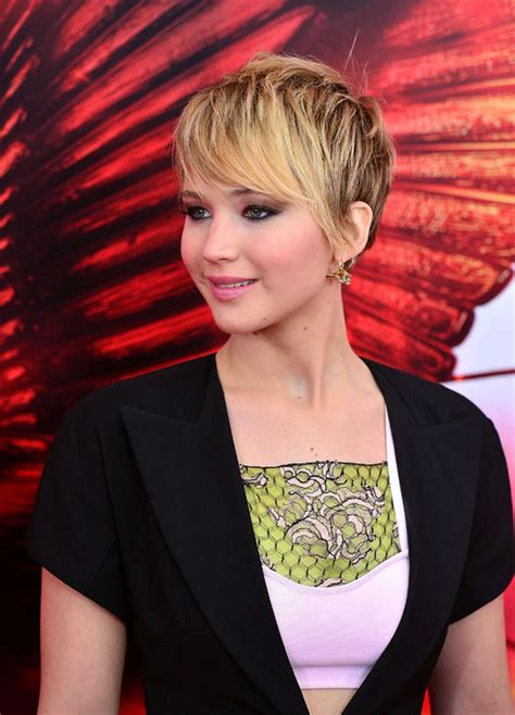jennifer lawrence short hair 2014   Hairstyles & Fashions