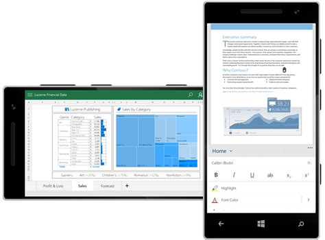 office for mobile office 2016 e office in italiano a 32 e 64 bit