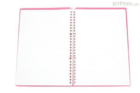 Binder B5 26ring S6 kokuyo cus smart ring binder notebook b5 26 rings pink jetpens