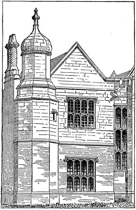elizabethan architecture clipart
