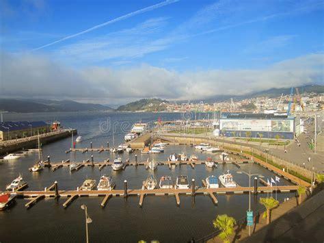 porto della spagna porto di vigo galizia spagna fotografia stock editoriale