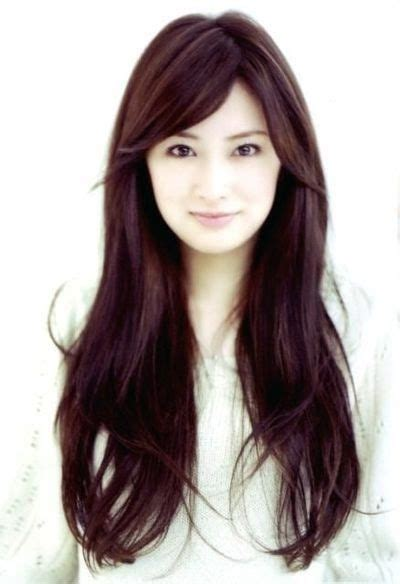width faces with hair styls long asian hairstyles for round faces all about hair