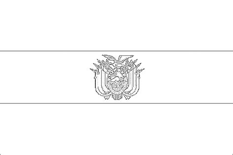 Free Coloring Pages Of Flag Of Bolivia Flag Of Bolivia Coloring Page