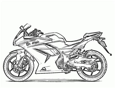 printable coloring pages motorcycles free printable motorcycle coloring pages for