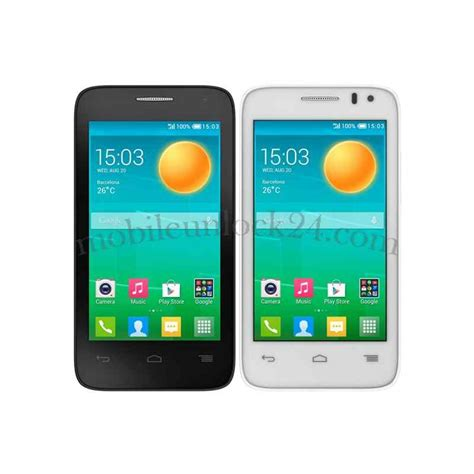 Hp Alcatel Pop D3 unlock alcatel one touch pop d3 4035x 4035y