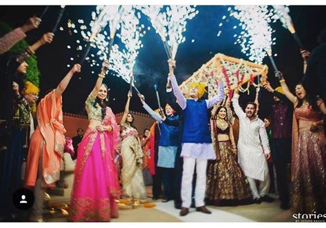 Indian Groom Makes Dramatic Entrance by Entrance Idea Indian Weddings Wedding Ideas