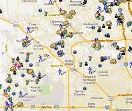 houston crime map yw116gox crime map houston 2010