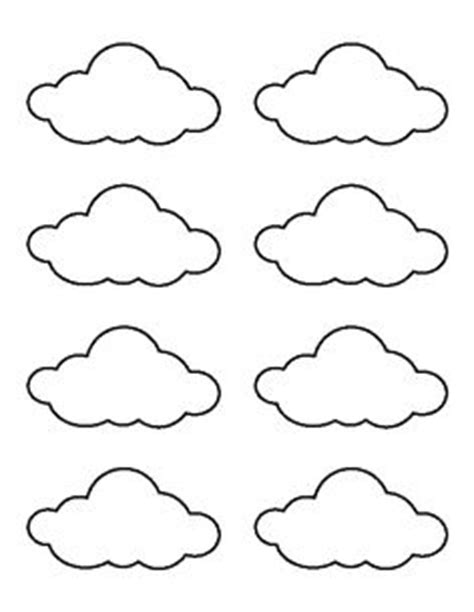 dreamland pattern writing large cloud pattern use the printable outline for crafts