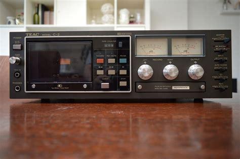 teac cassette deck teac c2 professioneel cassette deck catawiki