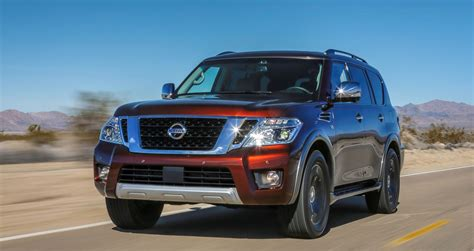 armada truck 2017 nissan armada swaps from truck basis to bomb proof