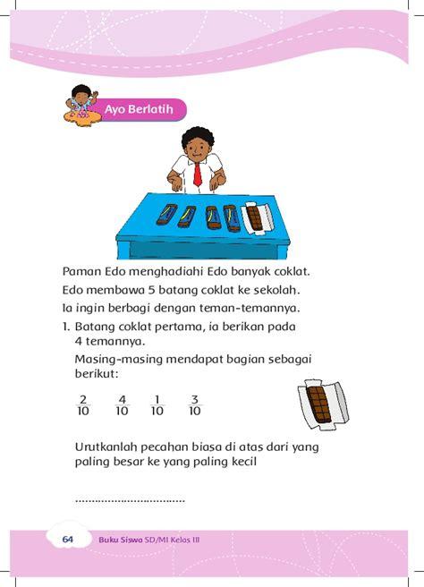 Teknologi Coklat perkembangan teknologi kelas 3 tema 2 buku siswa