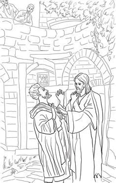 coloring page jesus heals bleeding jesus heals the bleeding coloring page bible