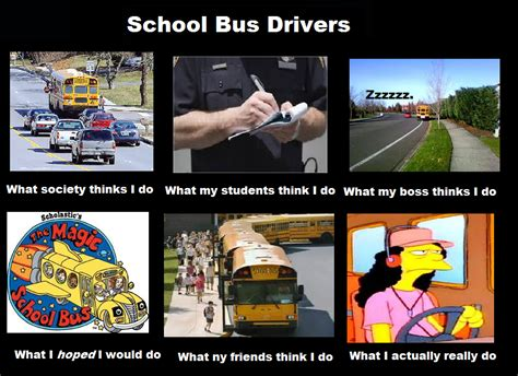School Bus Meme - school bus driver memes