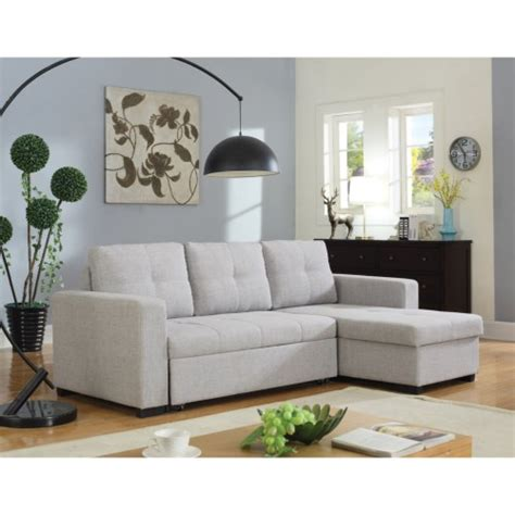 Coaster Sectional Sofa Coaster Everly Beige Sectional Sofa With Sleeper Coaster Furniture