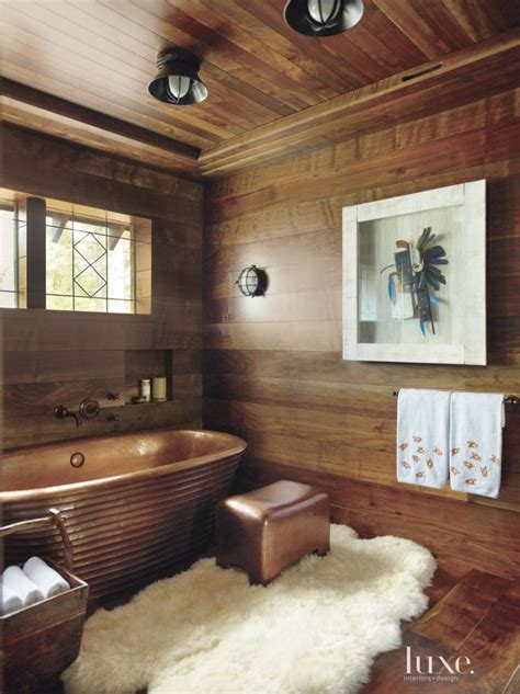 warm wood panels  walls  ceiling   country