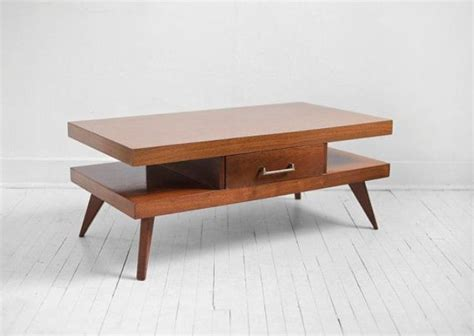 modern coffee table 44 stylish mid century modern coffee tables digsdigs