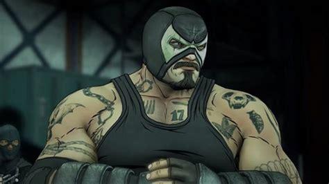 Batman Bane telltale teases batman vs bane battle in the enemy within