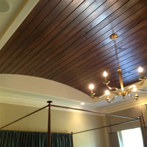 tongue and groove wood flooring in trey ceiling very cool home decor pinterest trey