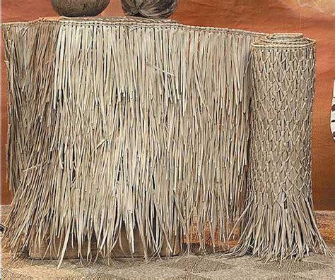 Tiki Grass Thatch Duck Blind Grass Roll Grass Mats Fast Grass Blind