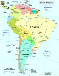 western south america map south america map south america atlas south america