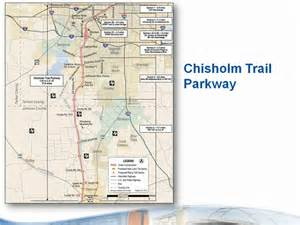 tollway authority map the chisholm trail parkway is a 27 6 mile toll road that