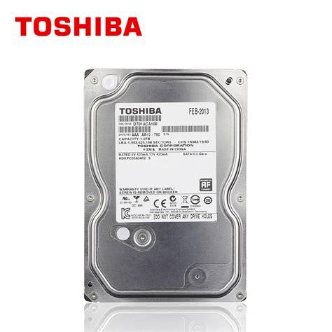 Harddisk Toshiba 1tb aliexpress buy toshiba 1tb drive disk 1000gb 1t hd hdd 7200rpm 32m 3 5 quot sata