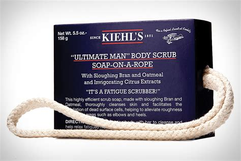 why a man would receive scrub soap as a gift kiehl s quot ultimate quot soap on a rope refined