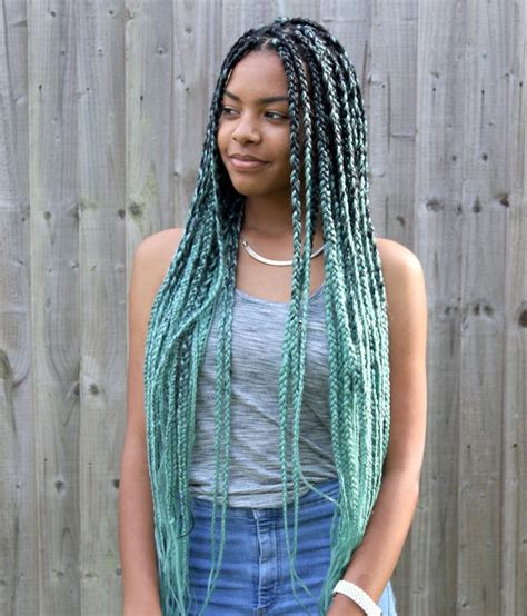 pics of box braids with color best 25 colored box braids ideas on pinterest
